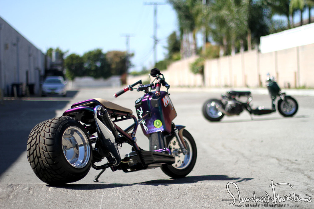 Custom Honda Ruckus For Sale >> Honda ruckus fat tire kit for sale