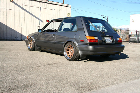 CA 1988 Toyota Corolla AE82 FX16- Slammed $1500 - Zilvia net